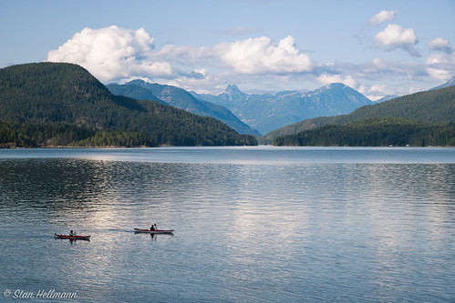 Kayaking Quadra Island