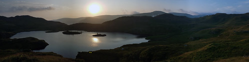 Sunrise over Angle Tarn