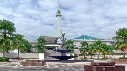 Malaysia - Kuala Lumpur - National Mosque - 1