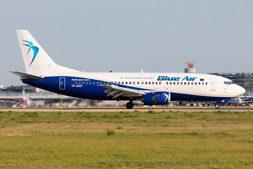 Blue Air Boeing 737-3Y0 YR-BAP