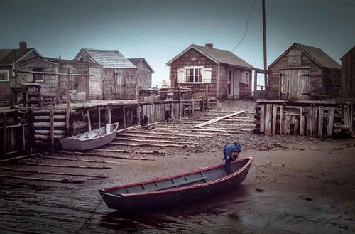 Three Fathom Harbour,  Nova Scotia,  1980