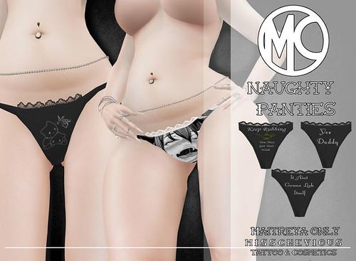 Misschevious - Naughty Panties Vendor