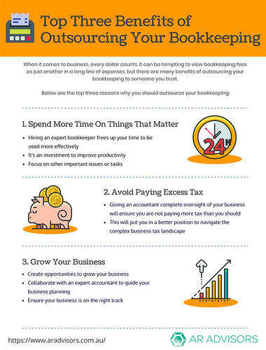 Top 3 Benefits of Outsourcing Your Bookkeeping