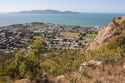 Magnetic Island and North Ward from Castle Hill