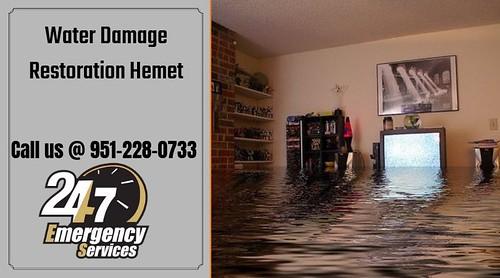 Water Damage Restoration Hemet
