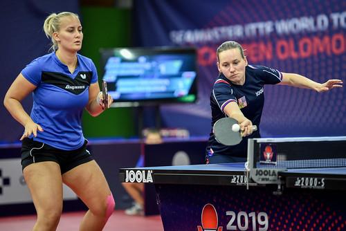 BALAZOVA Barbora (SVK), MATELOVA Hana (CZE) KabonLukas ITTF Czech Opena Olomouc_KAB_6533