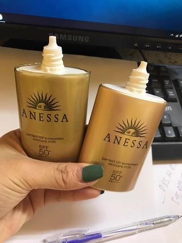 Phân biệt kem chống nắng anessa auth - fake