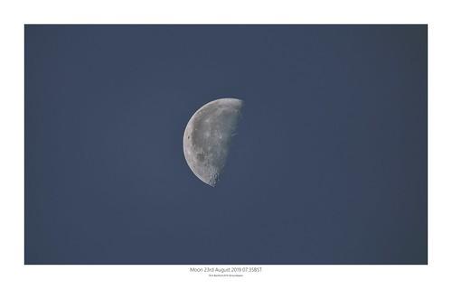 Moon 23.08.2019 07:35BST