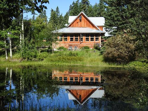 03 Pond reflections, Akesi Farms
