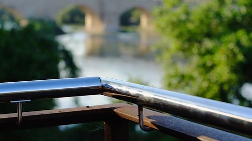 The Ebro river.