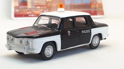 NOREV 1965 RENAULT 8 GORDINI NO4 FRENCH POLICE CAR 1/64