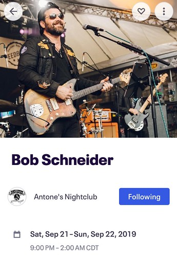 There IS(?) a god: holy hell UNIVERSE, not only do you have my favorite Austin musician playing the night I fly in but you also have my favorite festival going on. My brain EXPLODED with this intel. What an AMAZING way to start anew!