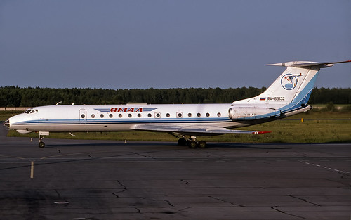 Yamal TU-134 RA-65132