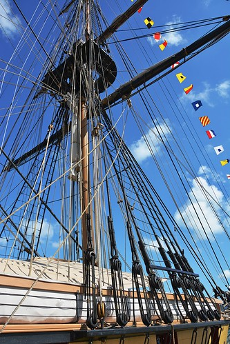 Brig Niagara Fore Mast.  Erie, PA