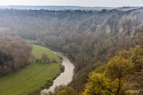 Symonds Yat View of the magnificent River Wye.