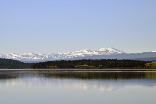 Teslin Lake off Alaska Highway 1 in Northern British Columbia, Canada  -  (Selected by GETTY IMAGES)