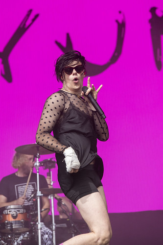 Yungblud performing at Leeds Festival Friday 2019