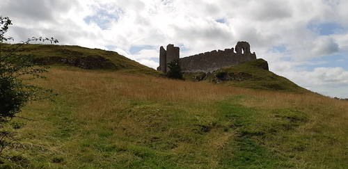 Castle Roche near Dunalk.   Down a tiny farming lane with no nearby parking, you have to climb over a stone fence and into a sheep farmer's field for public access. The name