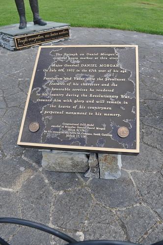 0156 The Epitaph on Daniel Morgan's original grave marker Img_23023