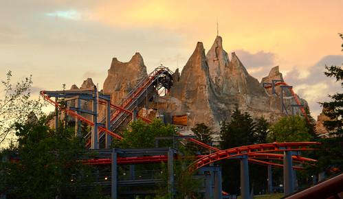 Wonder Mountain At Sunset