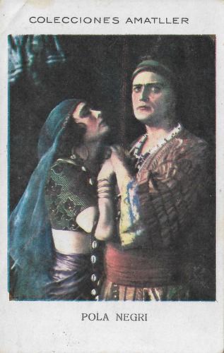 Colecciones Amatller, Pola Negri and Harry Liedtke