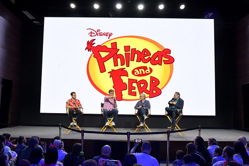 Disney+ Pavilion At D23 Expo Friday, August 23