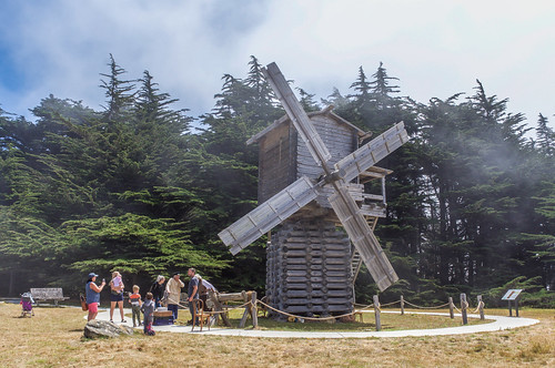 Fort Ross State Historical Park > Windmill Replica made in Russia
