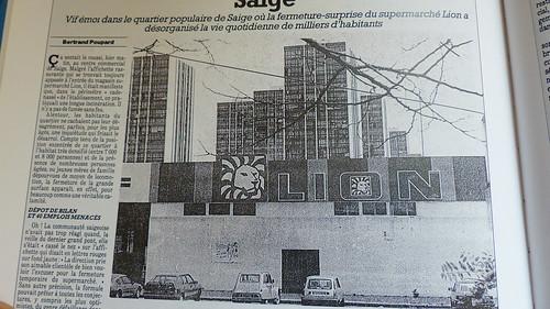 SAIGE @ Cité moderne extrait journal sud ouest du 11 mai 1989