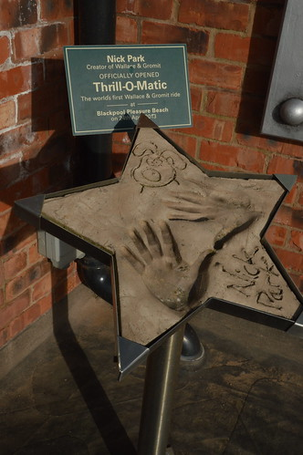 Nick Park Officially Opened Thrill-o-Matic
