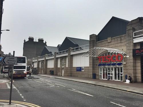 Tesco, Duke Street, Leith, Edinburgh - former Scotmid superstore