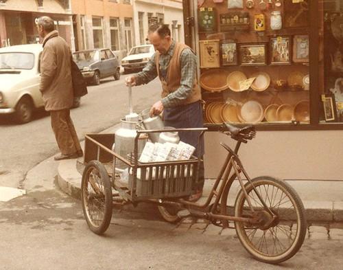 es rues de Lyon (ici angle d'Ivry et du Mail à la Croix-Rousse) en 1985