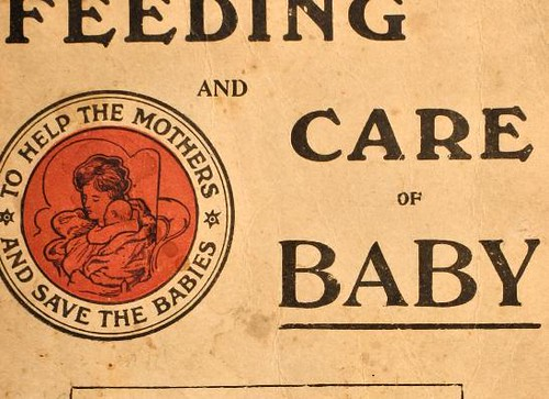 This image is taken from Feeding and care of baby