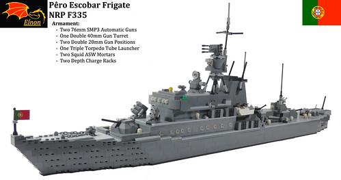 NRP Pêro Escobar LEGO Model