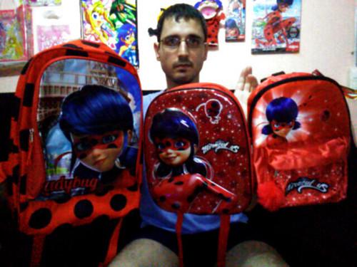 Miraculous Ladybug - School Backpacks / Mochilas para el Colegio