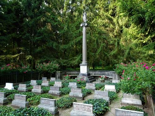 Familiengrab Humboldt-Bülow-Hedemann-Heinz