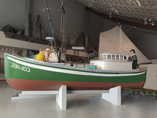 Columbia River Double-Ended Gillnet Boat (1928)