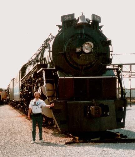 Bailtimore & Ohio Railroad Museum 1994