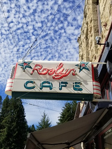 Boom!  Roslyn WA up high in the Cascades.