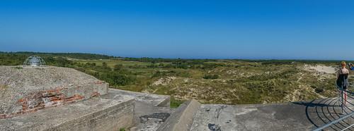 Isle of Schiermonnikoog Wassermann Atlantikwall Bunker WWII
