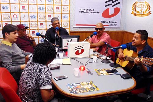 Programa MQBr recebe Caju e Castanha, Edson Jr. e Luciano Paco