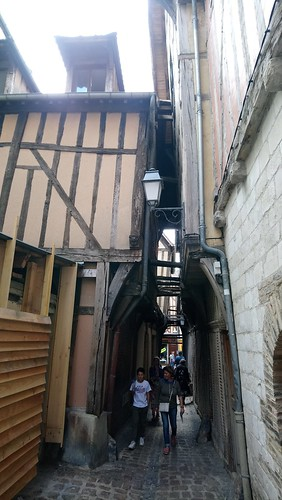 Troyes, a Medieval Alley
