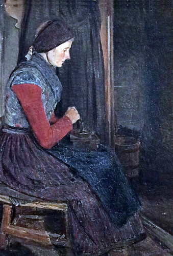 IMG_4776 Hans Smidth  (ou Schmidt) 1839-1917 Denmark Femme broyant des grains de café Woman grinding coffee beans ca 1870s Copenhague Collection Hirschsprung