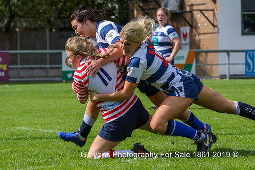 Kathryn Caine and Nikki Cowell tackle Alice Carden-2489