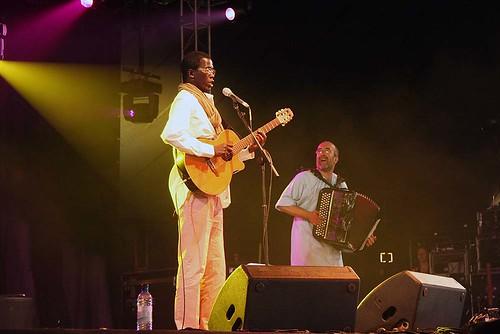 WOMAD UK08 Wasis Diop (Senegal)
