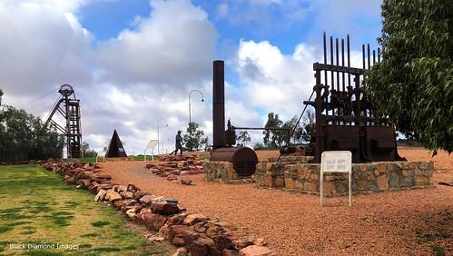 Cobar Miner's Heritage Park, Nyngan Road, Cobar, Western NSW