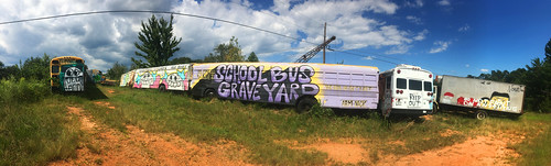 School Bus Grave Yard