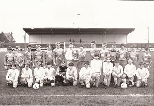 Football schools Watters Cup Gavin Swankie