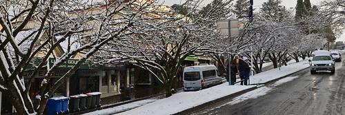 Snowy Mall Wide