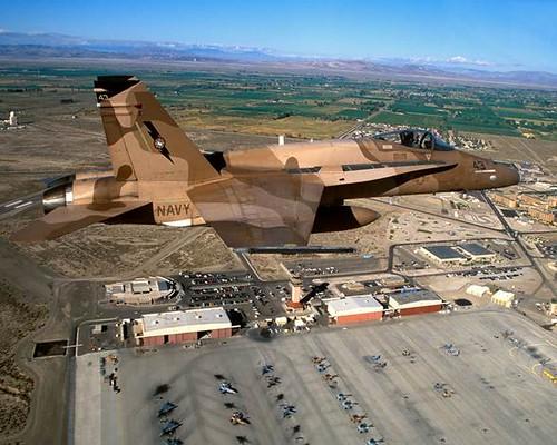 NAS Fallon     In Northern Nevada's high desert!