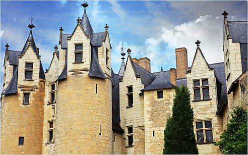 Le Château de Montreuil-Bellay, Maine-et-Loire, France